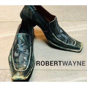 Robert Wayne Motley Fleur de Lis-Men's shoe